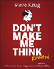 Book cover: Don't Make Me Think!